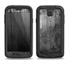 The Grunge Scratched Metal Samsung Galaxy S4 LifeProof Nuud Case Skin Set