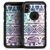Tie-Dyed Aztec Elephant Pattern V2 - Skin Kit for the iPhone OtterBox Cases