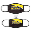 Tint World V1 - Made in USA Mouth Cover Unisex Anti-Dust Cotton Blend Reusable & Washable Face Mask with Adjustable Sizing for Adult or Child