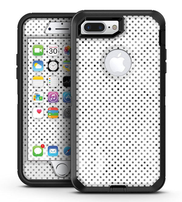 Tiny Black Watercolor Polka Dots - iPhone 7 Plus/8 Plus OtterBox Case & Skin Kits
