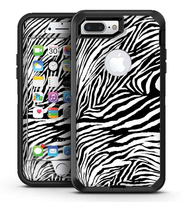 Toned Zebra Print - iPhone 7 Plus/8 Plus OtterBox Case & Skin Kits