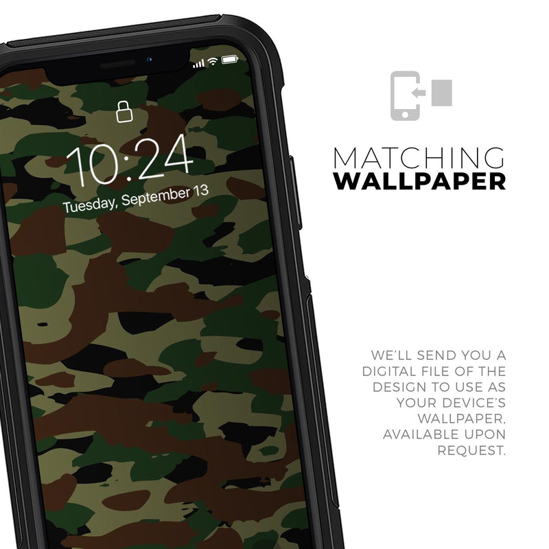 Traditional Camouflage - Skin Kit for the iPhone OtterBox Cases