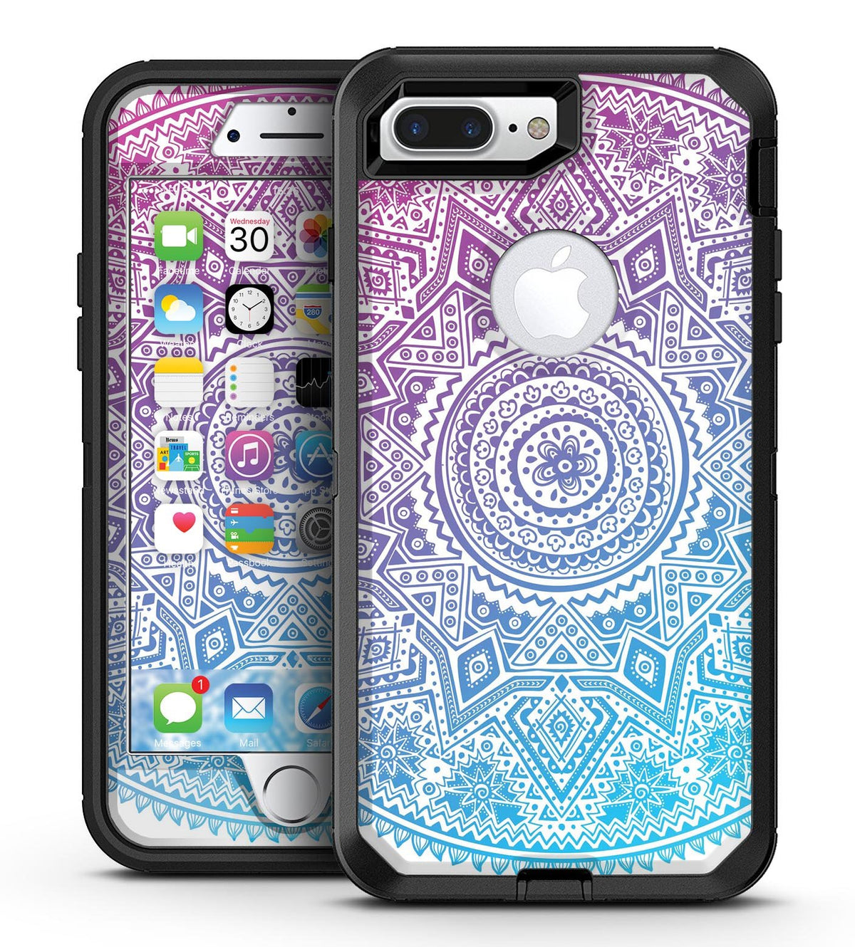 the best attitude 4259b d3cb7 Tribal Ethnic Mandala v5 - iPhone 7 Plus/8 Plus OtterBox Case & Skin Kits