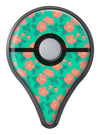 Tropical Coral Floral v1 Pokémon GO Plus Vinyl Protective Decal Skin Kit