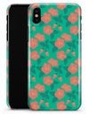 Tropical Coral Floral v1 - iPhone X Clipit Case