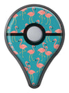 Tropical Flamingo v2 Pokémon GO Plus Vinyl Protective Decal Skin Kit