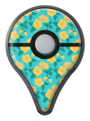 Tropical Floral v1 Pokémon GO Plus Vinyl Protective Decal Skin Kit