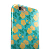 Tropical Floral v1 iPhone 6/6s or 6/6s Plus 2-Piece Hybrid INK-Fuzed Case