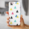 Tropical Summer Love v3 iPhone 6/6s or 6/6s Plus 2-Piece Hybrid INK-Fuzed Case