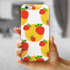Tropical Summer Love v5 iPhone 6/6s or 6/6s Plus 2-Piece Hybrid INK-Fuzed Case