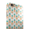 Tropical Summer Pineapple v1 iPhone 6/6s or 6/6s Plus 2-Piece Hybrid INK-Fuzed Case