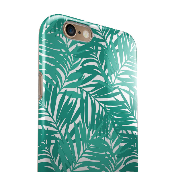 Tropical Summer v1 iPhone 6/6s or 6/6s Plus 2-Piece Hybrid INK-Fuzed Case
