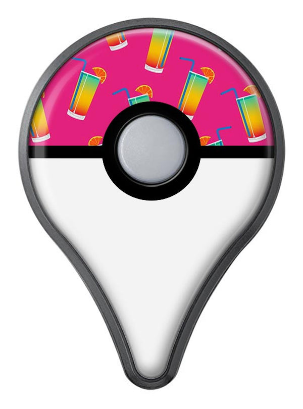 Tropical Twist Drinks v16 Pokémon GO Plus Vinyl Protective Decal Skin Kit