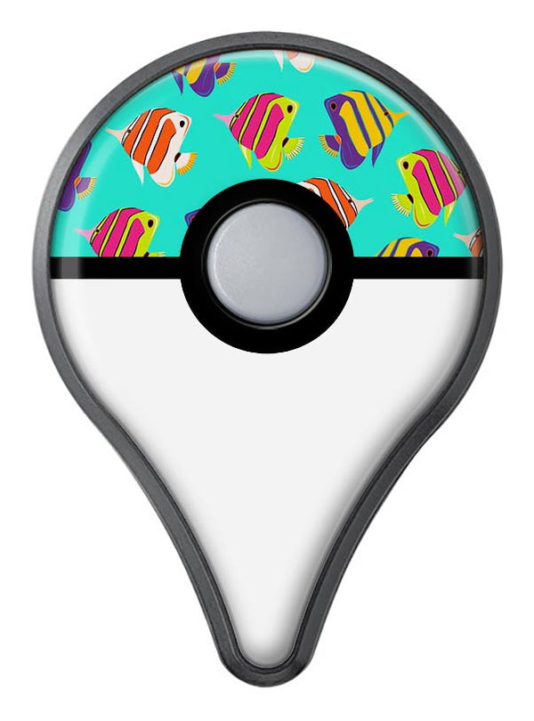 Tropical Twist Fishies v12 Pokémon GO Plus Vinyl Protective Decal Skin Kit