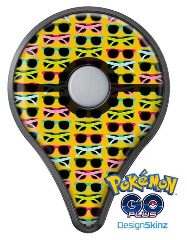 Tropical Twist Sunglasses v3 Pokémon GO Plus Vinyl Protective Decal Skin Kit