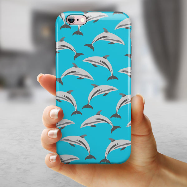 Tropical Twist v13 iPhone 6/6s or 6/6s Plus 2-Piece Hybrid INK-Fuzed Case