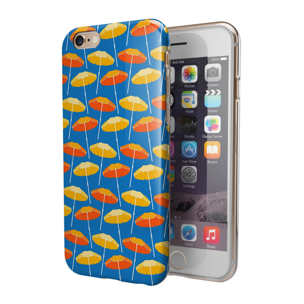 Tropical Twist v14 iPhone 6/6s or 6/6s Plus 2-Piece Hybrid INK-Fuzed Case