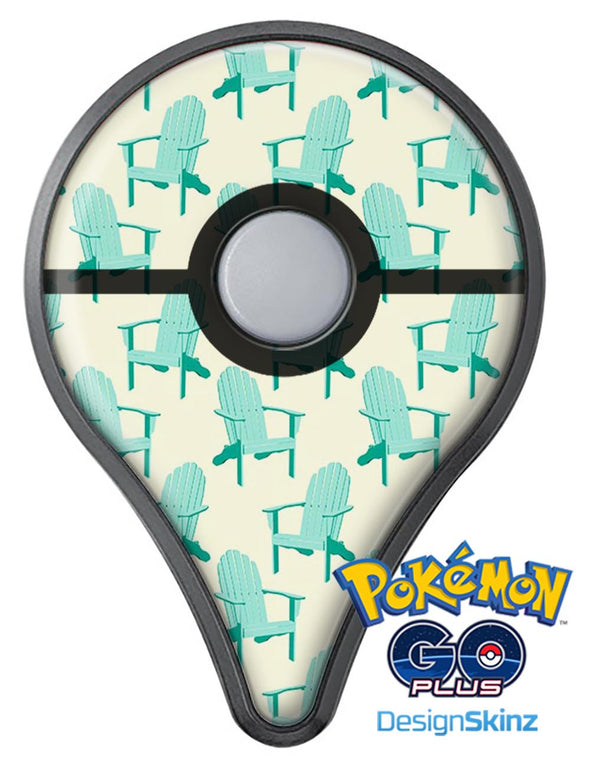 Tropical Twist v15 Pokémon GO Plus Vinyl Protective Decal Skin Kit