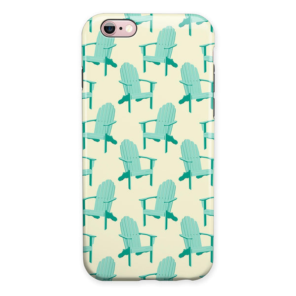 Tropical Twist v15 iPhone 6/6s or 6/6s Plus 2-Piece Hybrid INK-Fuzed Case