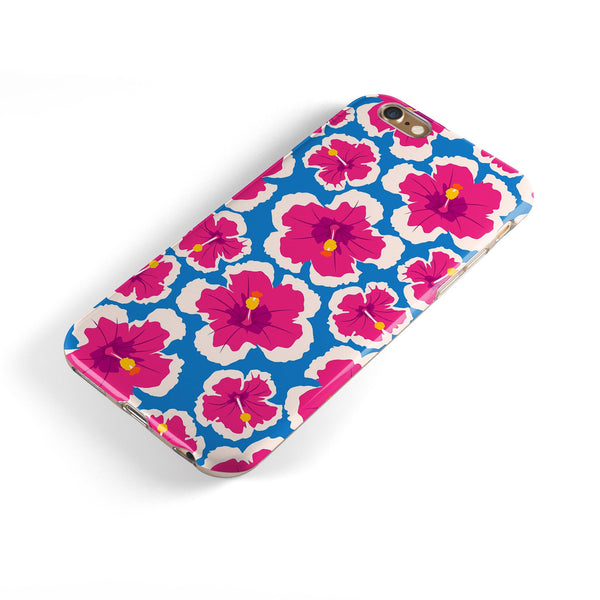 Tropical Twist v5 iPhone 6/6s or 6/6s Plus 2-Piece Hybrid INK-Fuzed Case