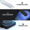 Vivid Agate Vein Slice Foiled V9 UV Germicidal Sanitizing Sterilizing Wireless Smart Phone Screen Cleaner + Charging Station