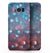 Unfocused Blue and Red Orbs - Samsung Galaxy S8 Full-Body Skin Kit