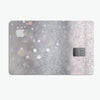 Unfocused Grayscale Glimmering Orbs of Light - Premium Protective Decal Skin-Kit for the Apple Credit Card