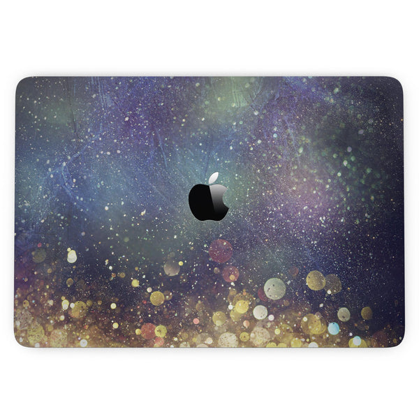 MacBook Pro with Touch Bar Skin Kit - Unfocused_MultiColor_Gold_Sparkle_-MacBook_13_Touch_V3.jpg?