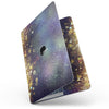MacBook Pro with Touch Bar Skin Kit - Unfocused_MultiColor_Gold_Sparkle_-MacBook_13_Touch_V7.jpg?