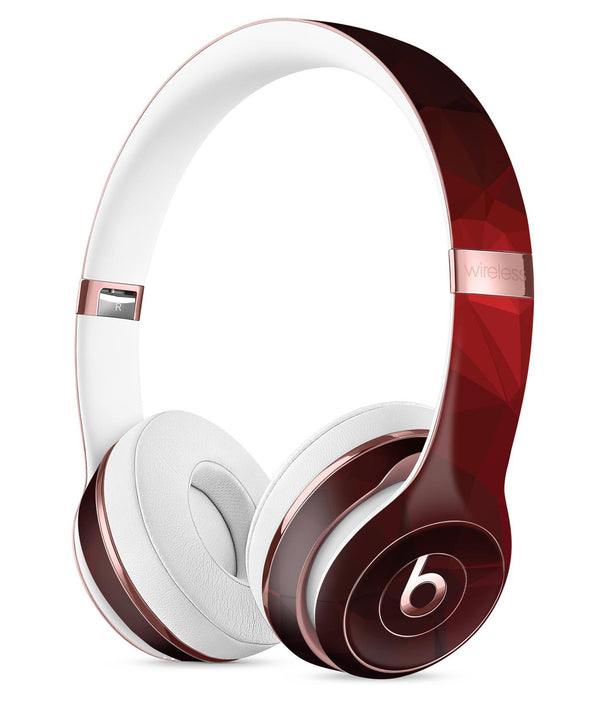 Varying Shades of Red Geometric Shapes Full-Body Skin Kit for the Beats by  Dre cb76387f2