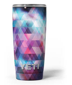 2e954843db67f1 Vector Triangle Pink and Blue Galaxy - Yeti Rambler Skin Kit - 20oz - V3.jpg.  Vector Triangle Pink and Blue ...