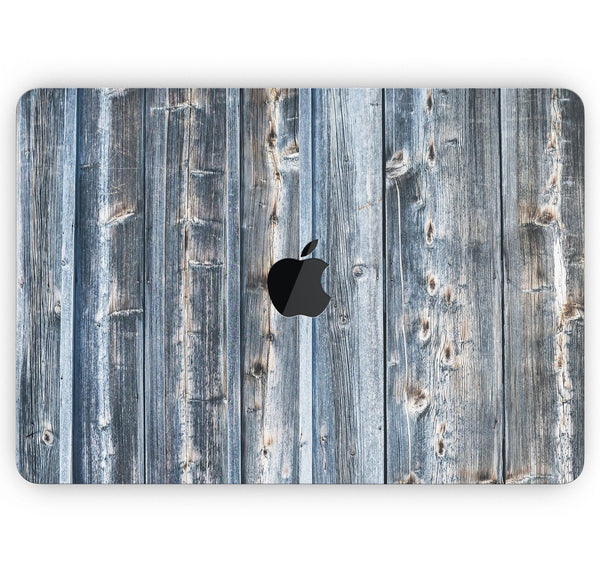 "Vertical Planks of Wood - Skin Decal Wrap Kit Compatible with the Apple MacBook Pro, Pro with Touch Bar or Air (11"", 12"", 13"", 15"" & 16"" - All Versions Available)"