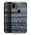 Vertical Planks of Wood - iPhone XS MAX, XS/X, 8/8+, 7/7+, 5/5S/SE Skin-Kit (All iPhones Available)
