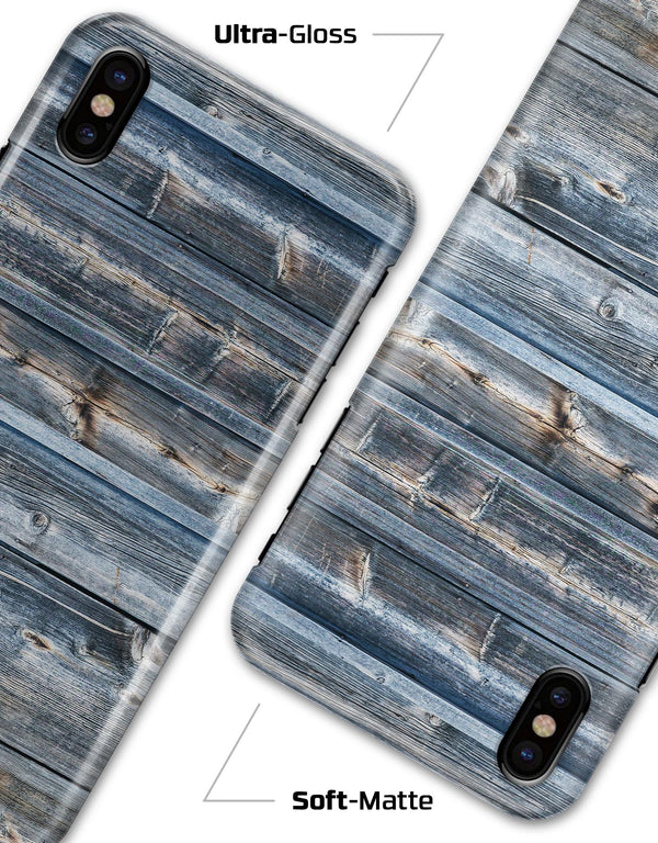 Vertical Planks of Wood - iPhone X Clipit Case