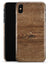 Vertical Weathered Woodgrain - iPhone X Clipit Case