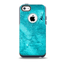Vibrant Blue Cement Texture Skin for the iPhone 5c OtterBox Commuter Case