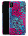 Vibrant Colorful Floral Sprouts - iPhone X Clipit Case