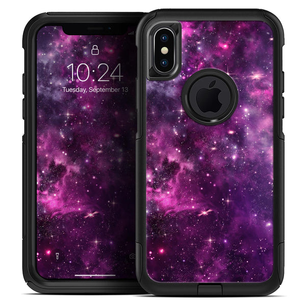 Vibrant Purple Deep Space - Skin Kit for the iPhone OtterBox Cases