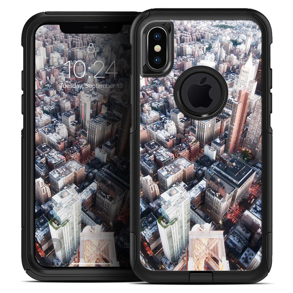 Vintage Aerial Cityscape - Skin Kit for the iPhone OtterBox Cases
