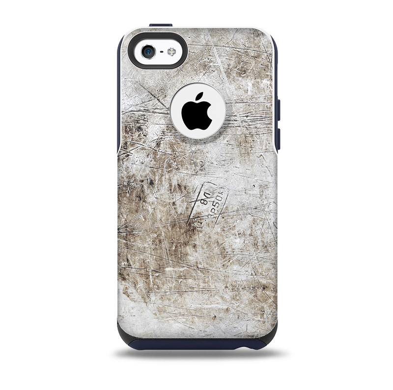 Vintage Scratched and Worn Surface Skin for the iPhone 5c OtterBox Commuter Case