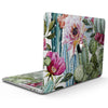 MacBook Pro with Touch Bar Skin Kit - Vintage_Watercolor_Cactus_Bloom-MacBook_13_Touch_V9.jpg?