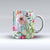 The Vintage Watercolor Cactus Bloom ink-Fuzed Ceramic Coffee Mug