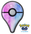 Vivid Blue Absorbed Watercolor Texture Pokémon GO Plus Vinyl Protective Decal Skin Kit