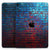 "Vivid Blue Brick Alley - Full Body Skin Decal for the Apple iPad Pro 12.9"", 11"", 10.5"", 9.7"", Air or Mini (All Models Available)"
