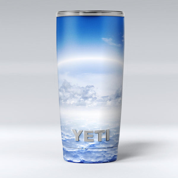 Vivid_Blue_Reflective_Clouds_on_the_Horizon_-_Yeti_Rambler_Skin_Kit_-_20oz_-_V1.jpg