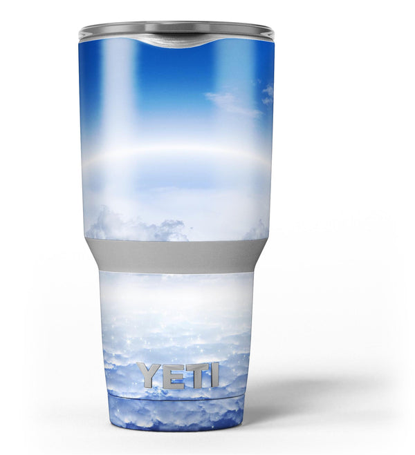 Vivid_Blue_Reflective_Clouds_on_the_Horizon_-_Yeti_Rambler_Skin_Kit_-_30oz_-_V3.jpg