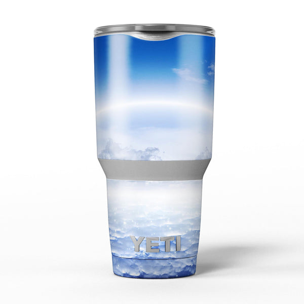 Vivid_Blue_Reflective_Clouds_on_the_Horizon_-_Yeti_Rambler_Skin_Kit_-_30oz_-_V5.jpg