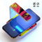 Vivid Colored Marbling Acrylic V2 UV Germicidal Sanitizing Sterilizing Wireless Smart Phone Screen Cleaner + Charging Station