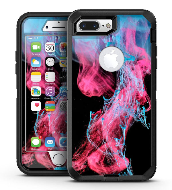 Vivid Pink and Teal liquid Cloud - iPhone 7 Plus/8 Plus OtterBox Case & Skin Kits