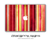 Vintage Striped MacBook Skin